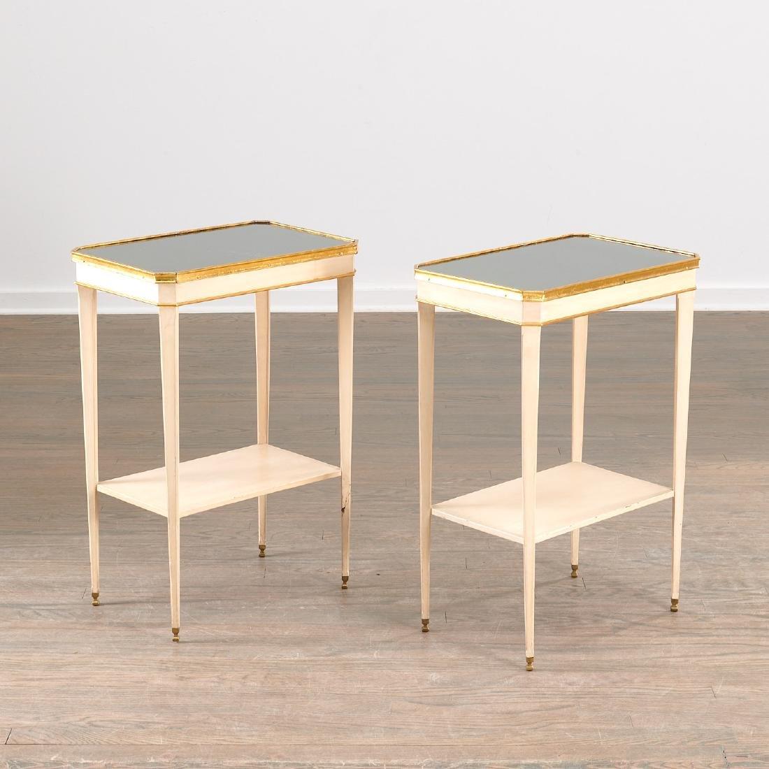 Fine Maison Jansen tiered side tables