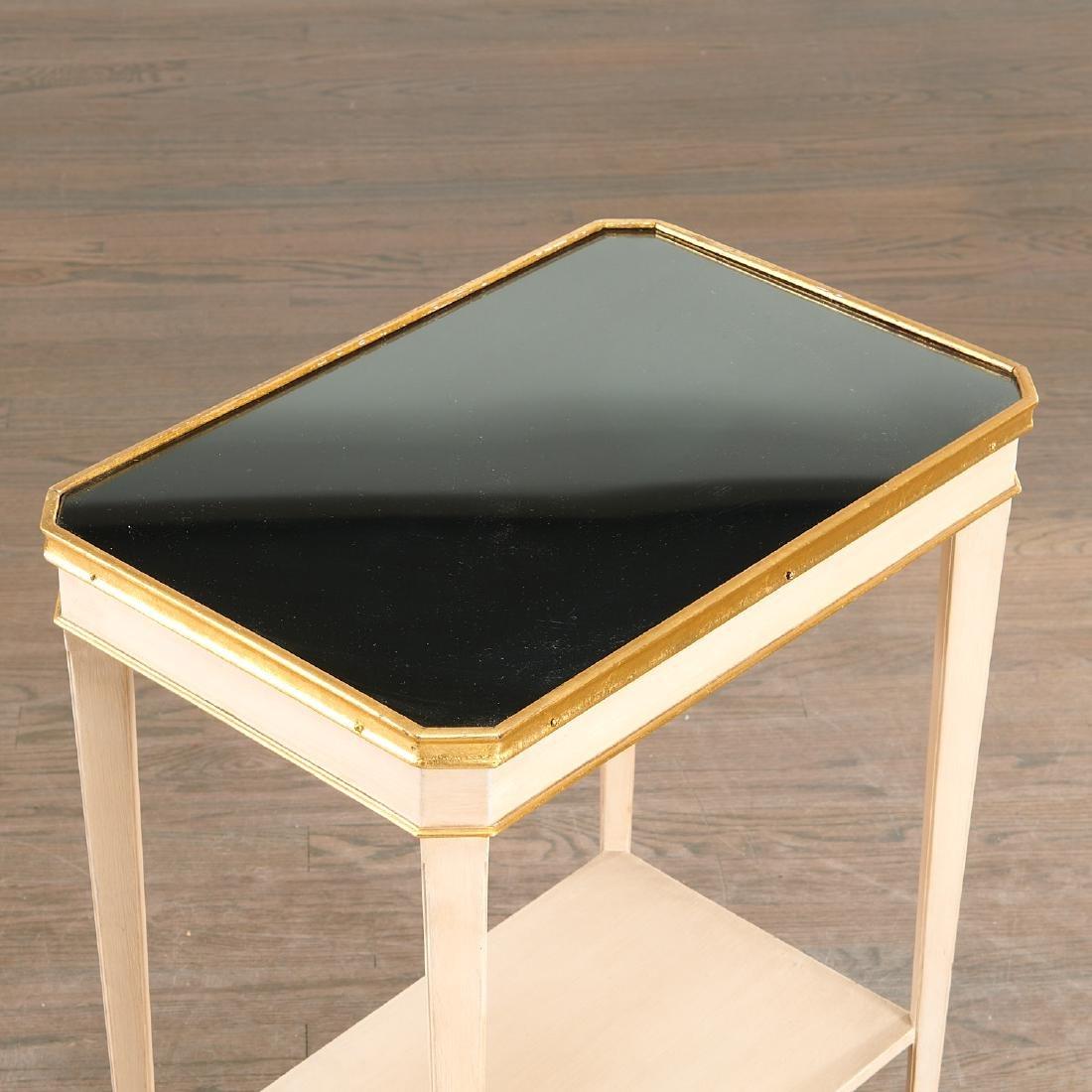 Fine Maison Jansen tiered side tables - 2