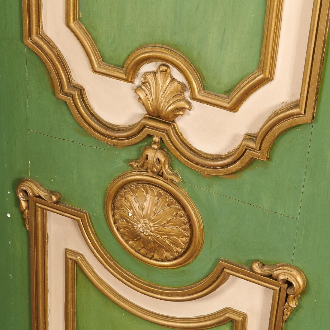 Signed Maison Jansen Louis XVI four-panel screen - 4