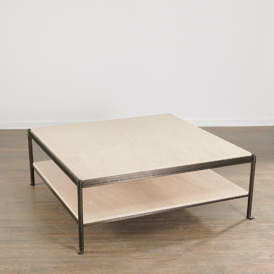 Large Contemporary designer tiered coffee table