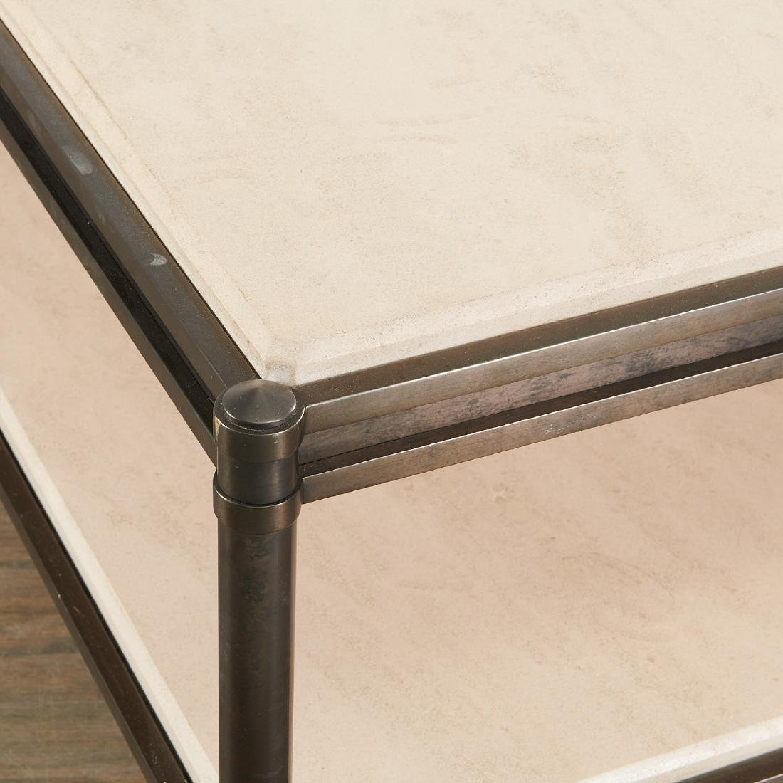Large Contemporary designer tiered coffee table - 2
