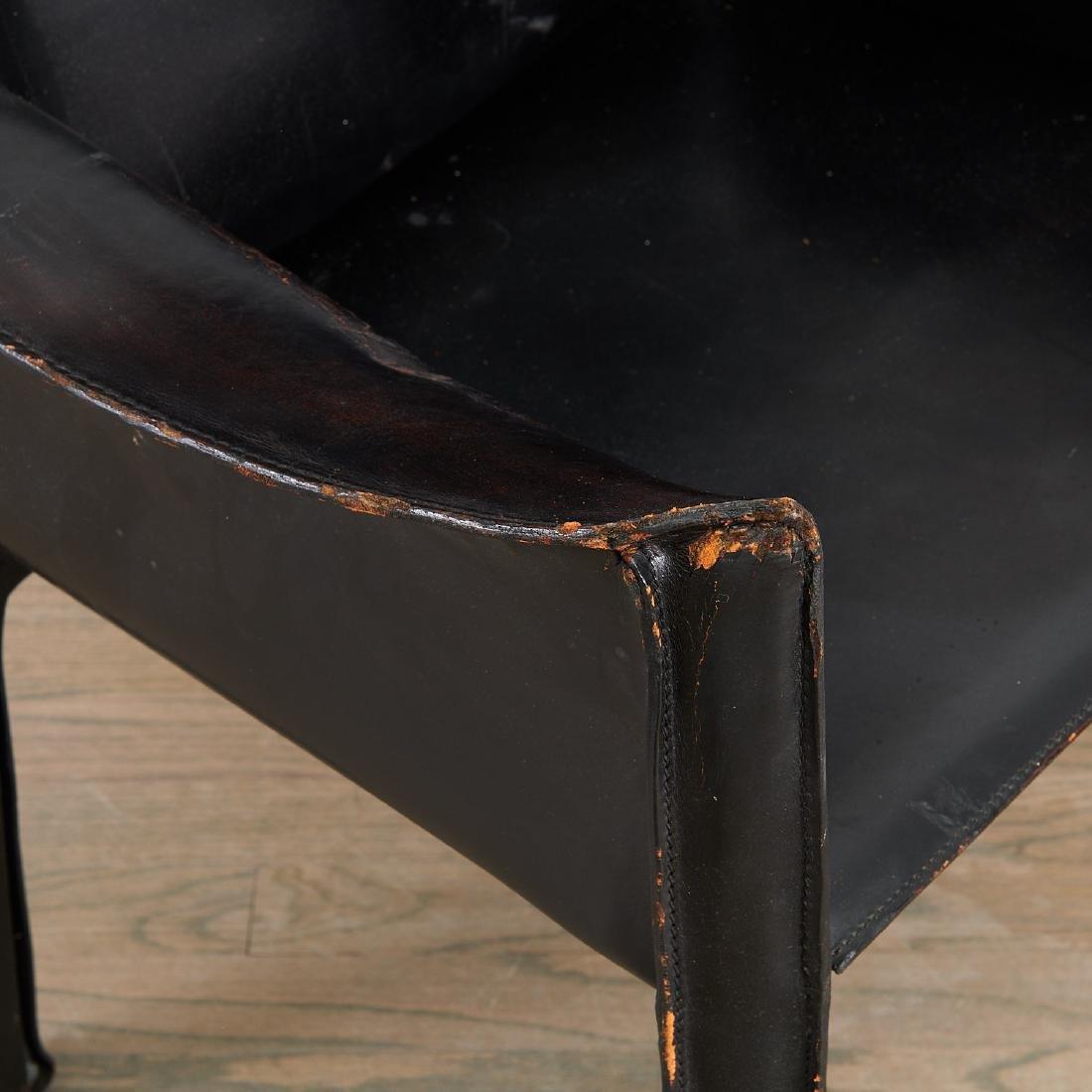 """(5) Mario Bellini """"Cab"""" armchairs - 3"""