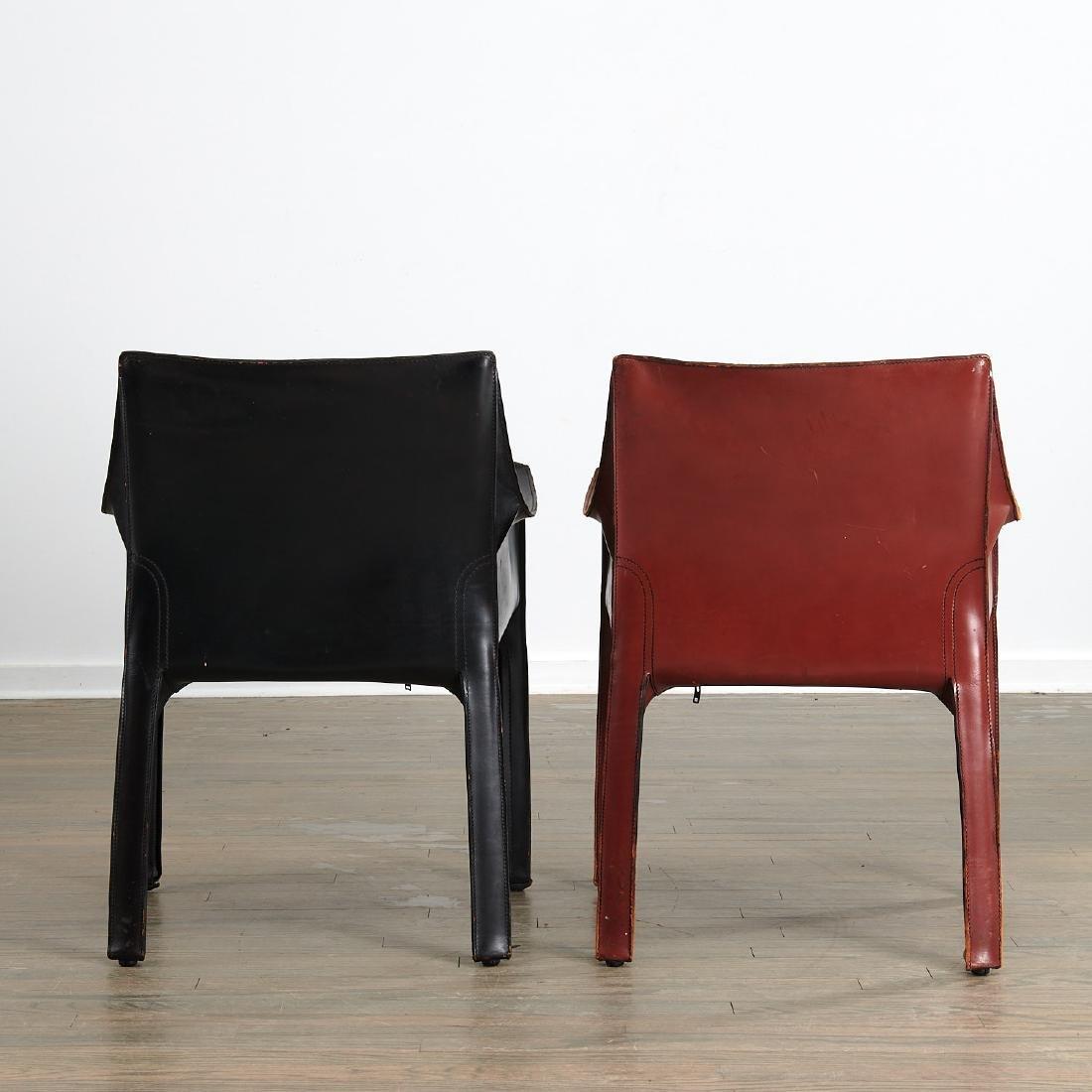 """(5) Mario Bellini """"Cab"""" armchairs - 4"""
