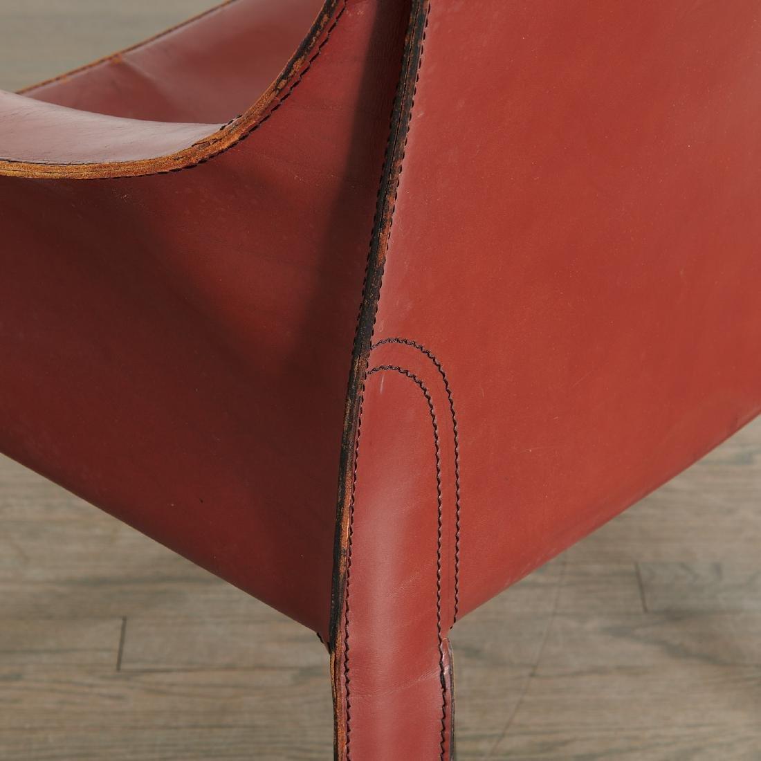 """(5) Mario Bellini """"Cab"""" armchairs - 5"""