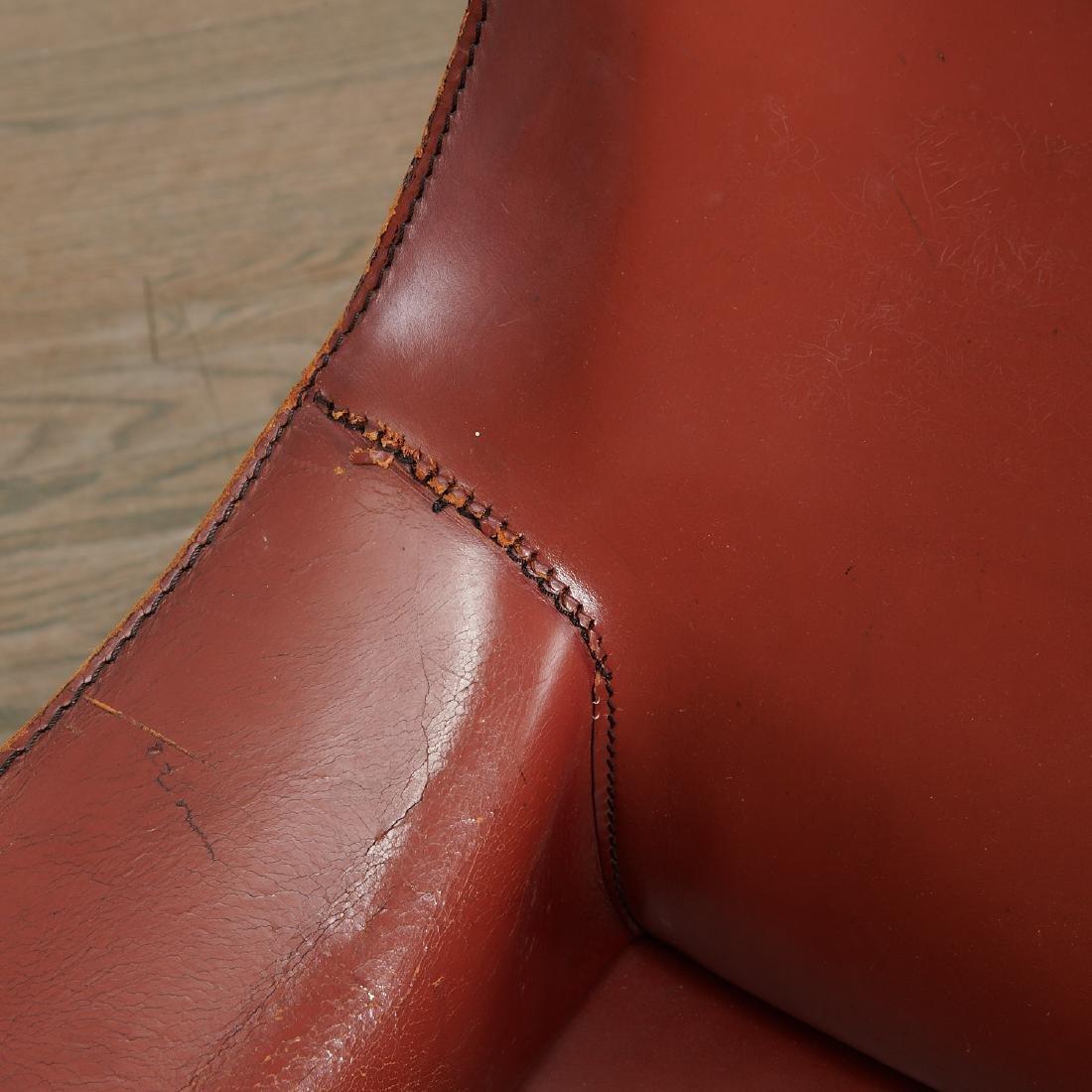 """(5) Mario Bellini """"Cab"""" armchairs - 6"""