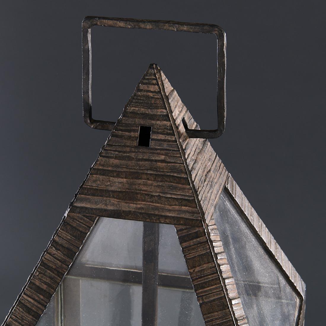 (2) WP Sullivan (attib.) designer hanging lanterns - 2