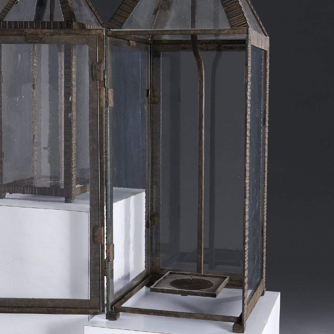 (2) WP Sullivan (attib.) designer hanging lanterns - 3