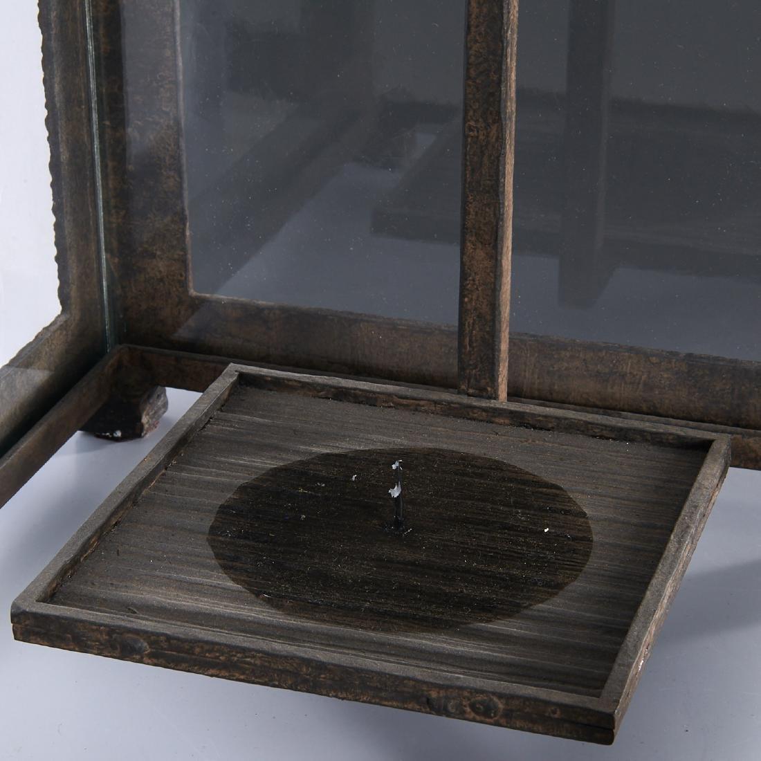 (2) WP Sullivan (attib.) designer hanging lanterns - 4
