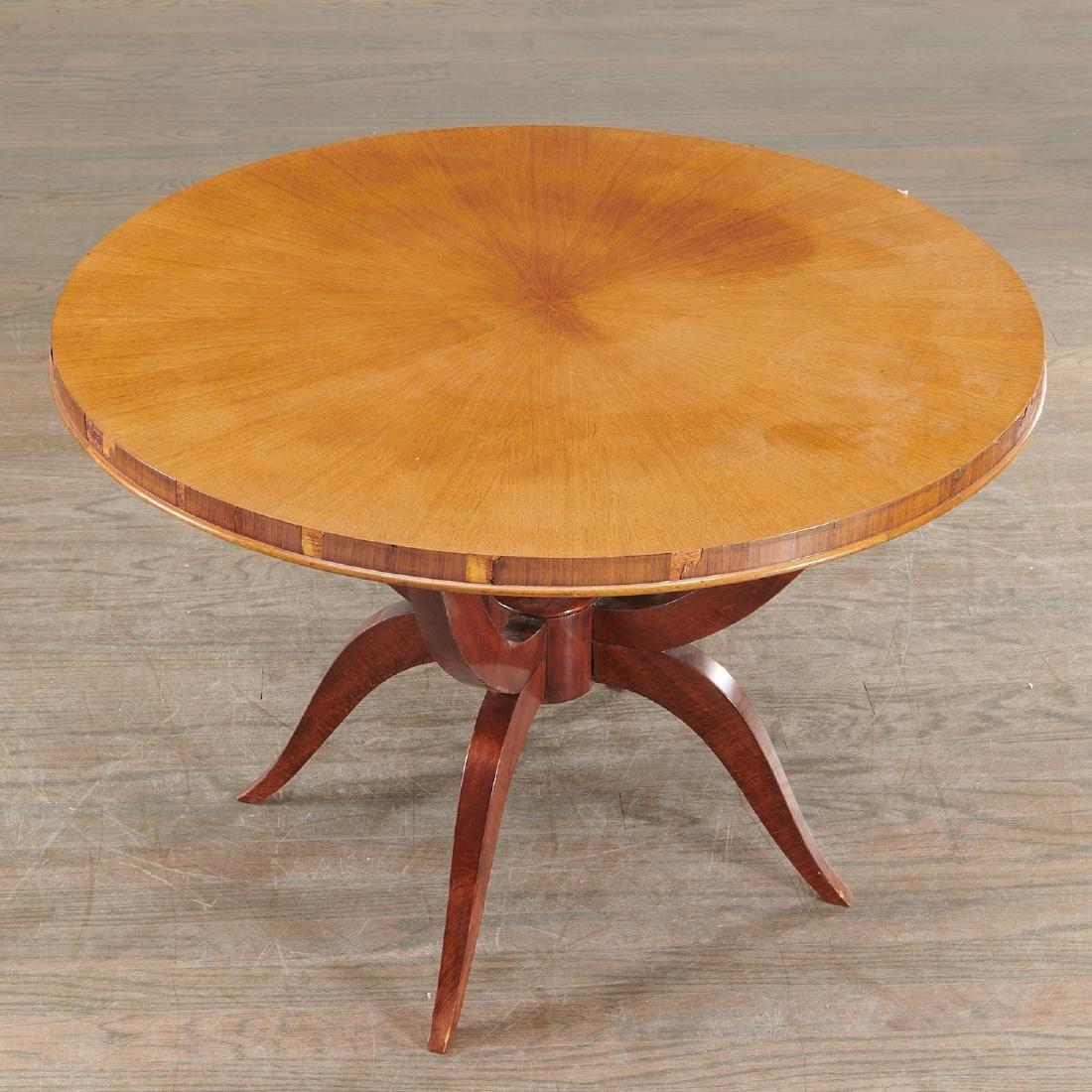 Jules Leleu (attrib.) circular coffee table - 2