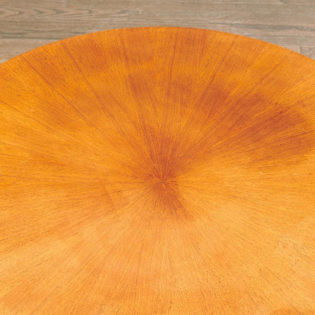 Jules Leleu (attrib.) circular coffee table - 3