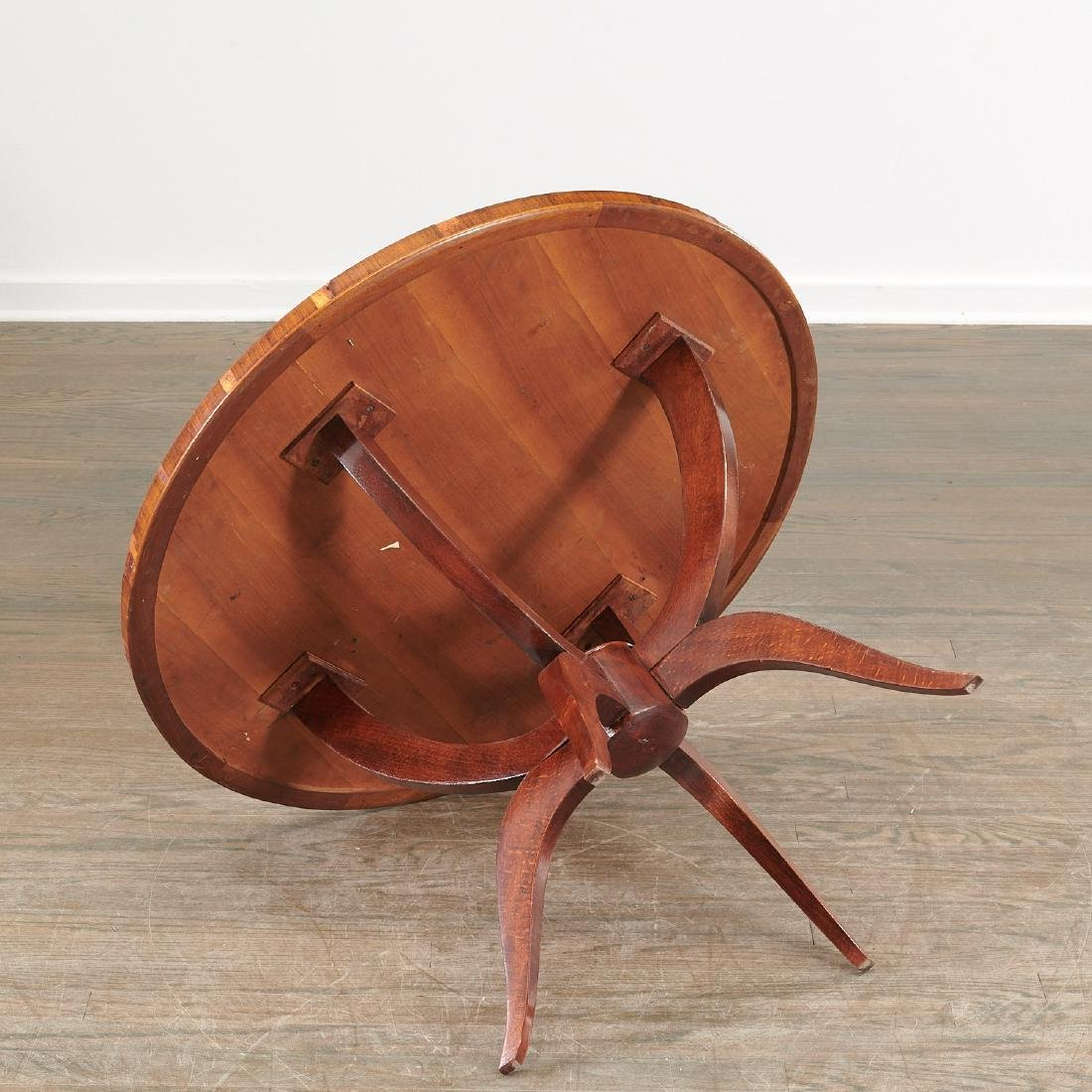 Jules Leleu (attrib.) circular coffee table - 6