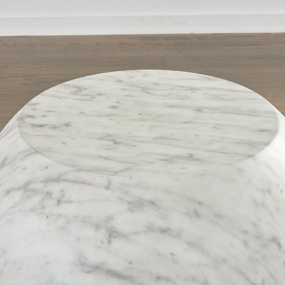 Pair Cappelini marbleized 'Bong' tables - 2