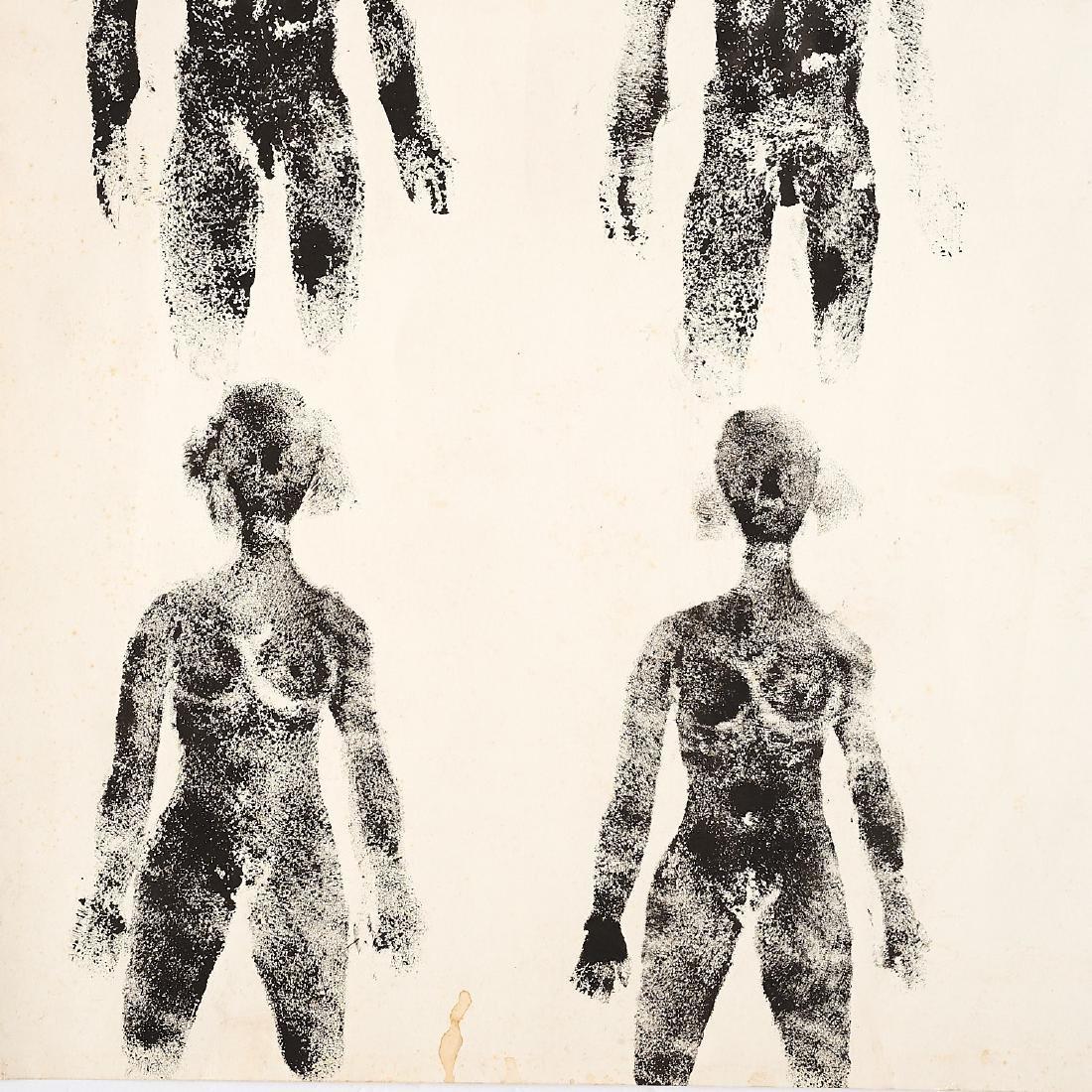 Antonio Bueno, stamp painting - 2