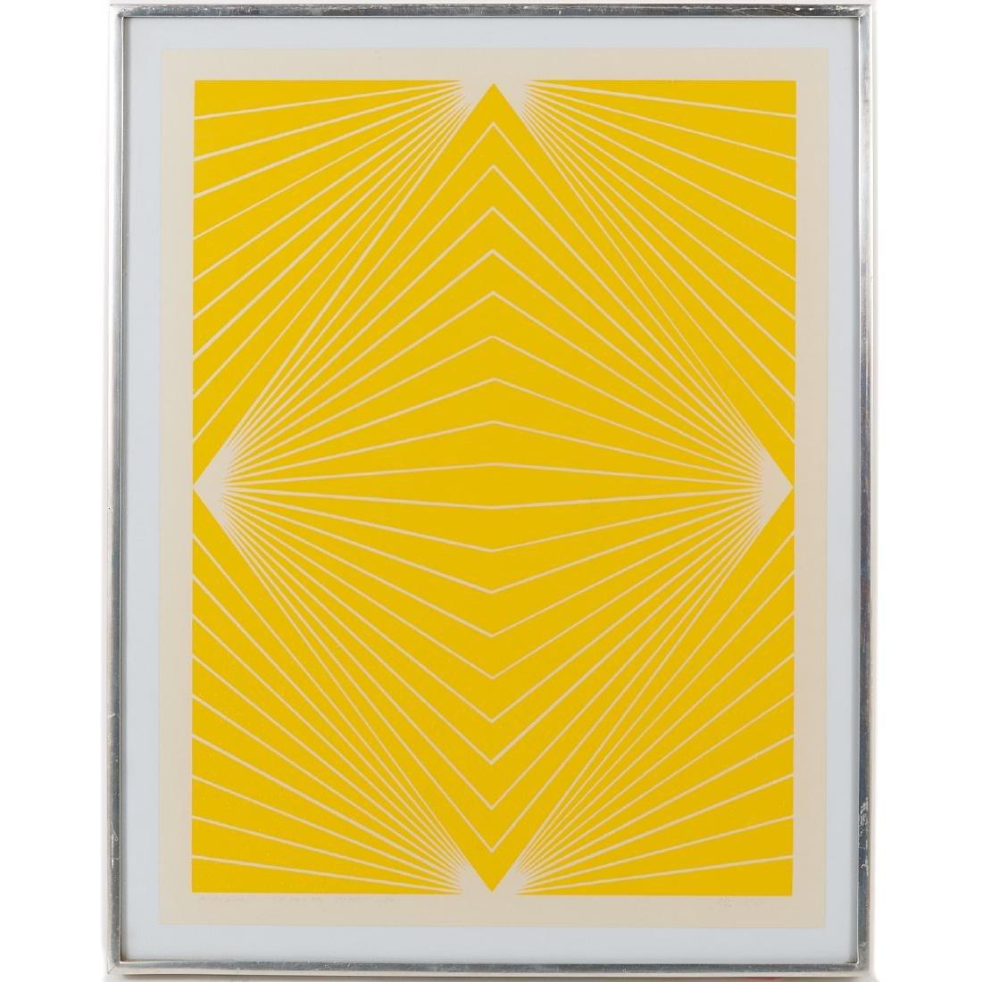 Richard Anuszkiewicz, print