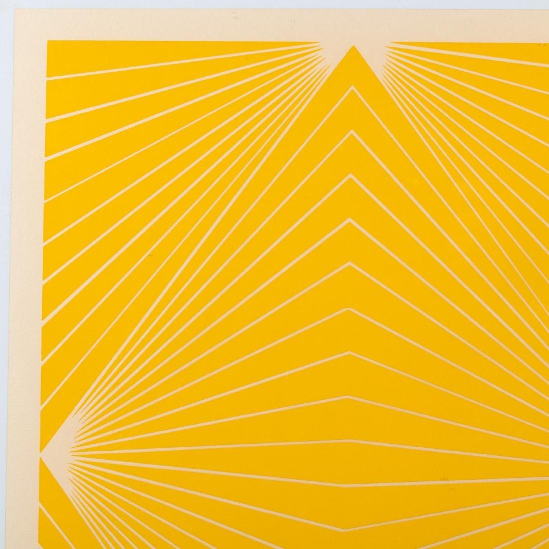 Richard Anuszkiewicz, print - 2
