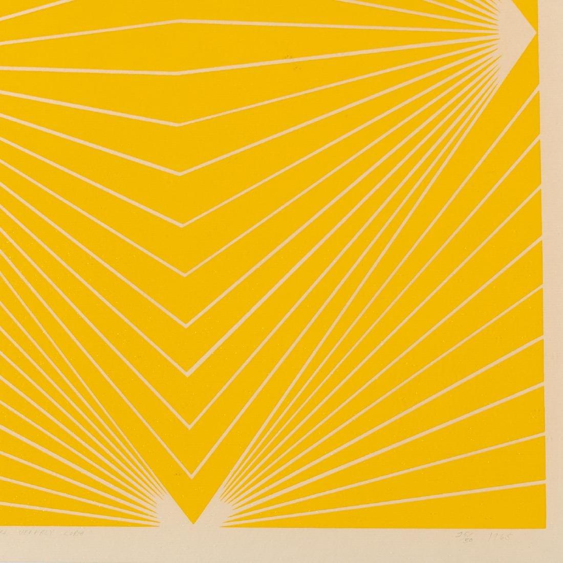 Richard Anuszkiewicz, print - 3