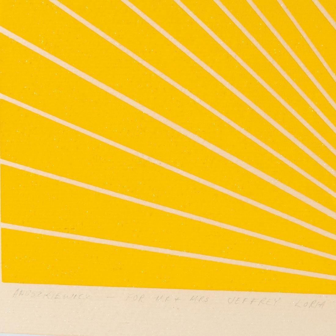 Richard Anuszkiewicz, print - 4