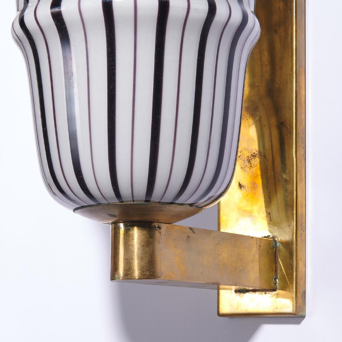 (4) Large Venetian glass sconces - 3