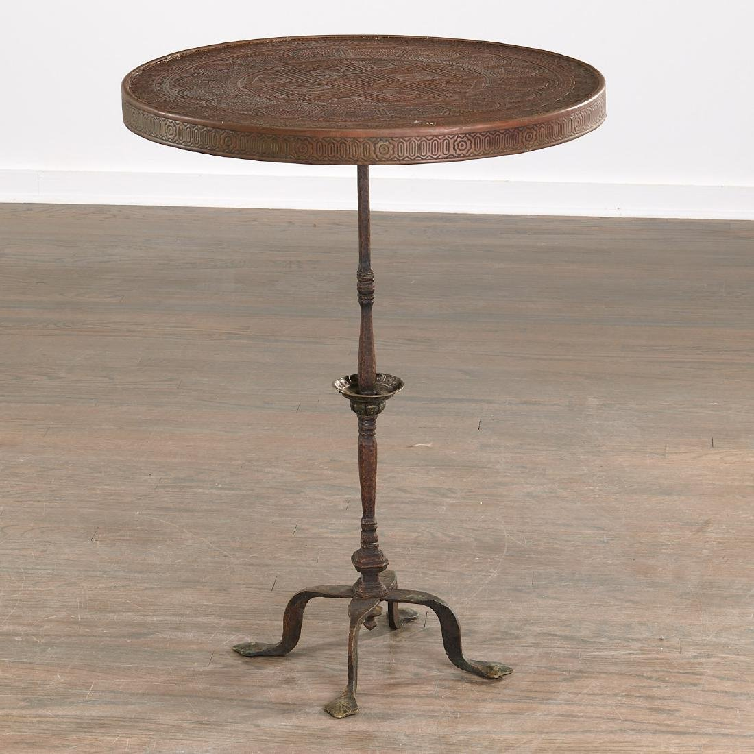Aesthetic Movement Moorish decorated table