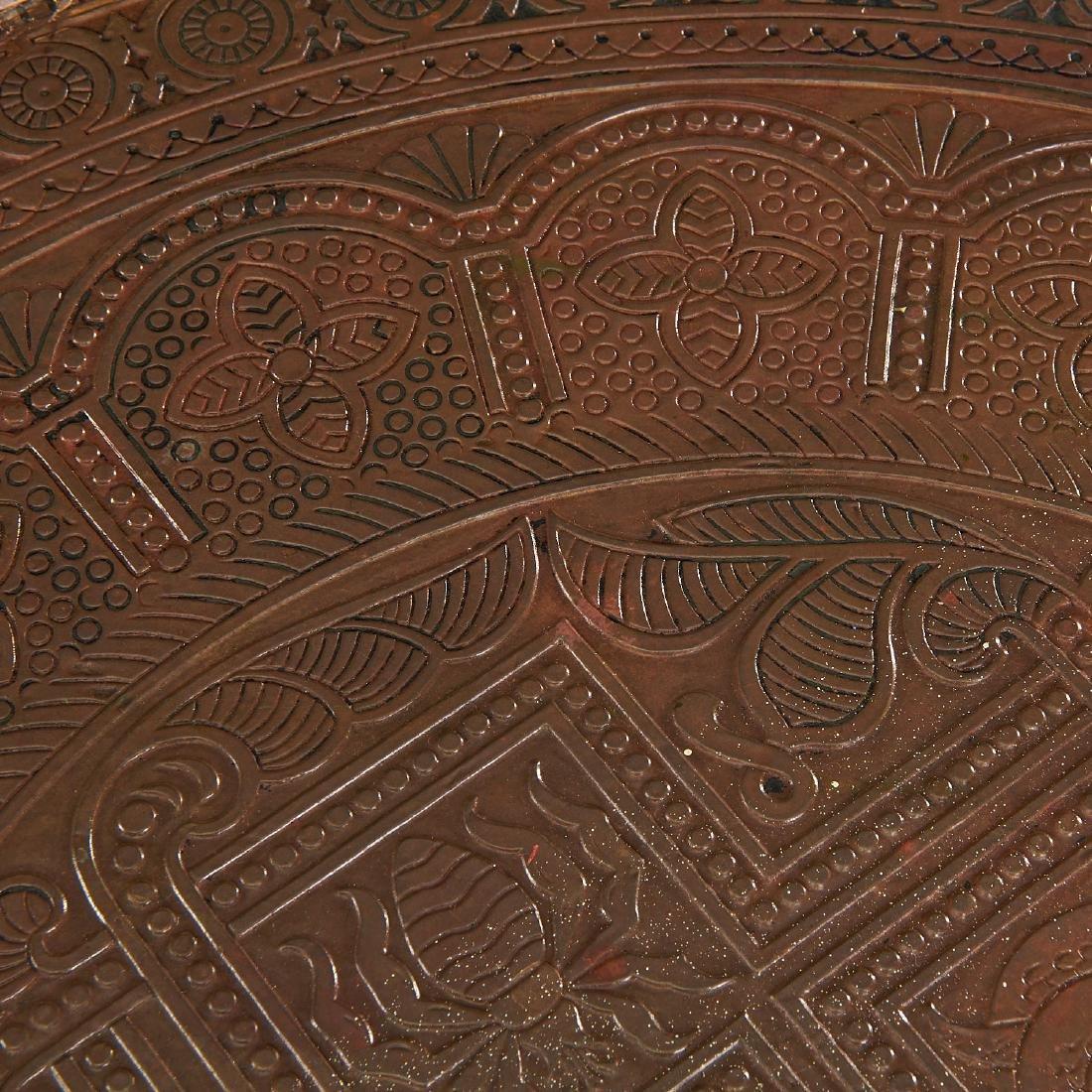 Aesthetic Movement Moorish decorated table - 4