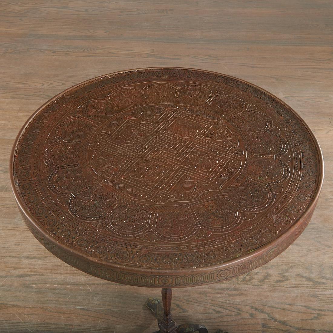 Aesthetic Movement Moorish decorated table - 5