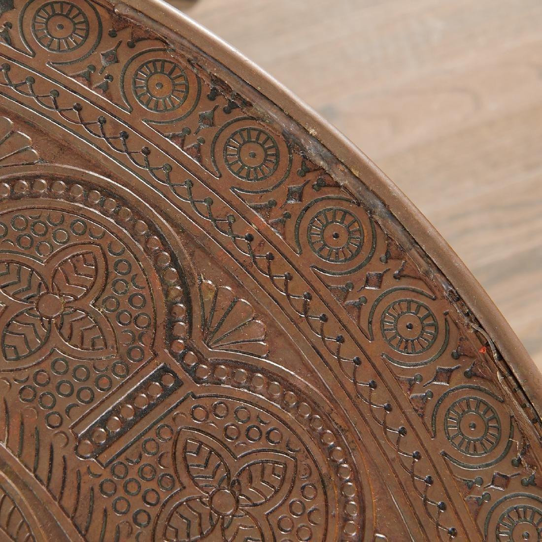 Aesthetic Movement Moorish decorated table - 7