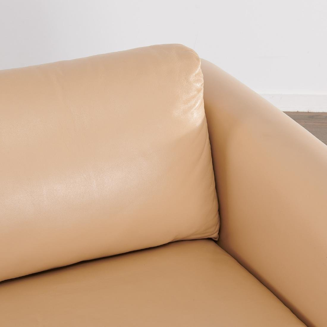Milo Baughman (attrib.) leather sofa - 2