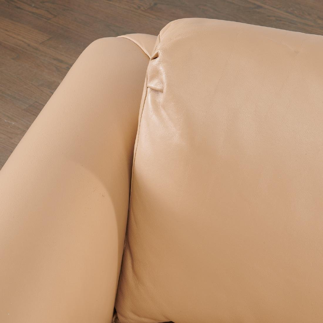Milo Baughman (attrib.) leather sofa - 5