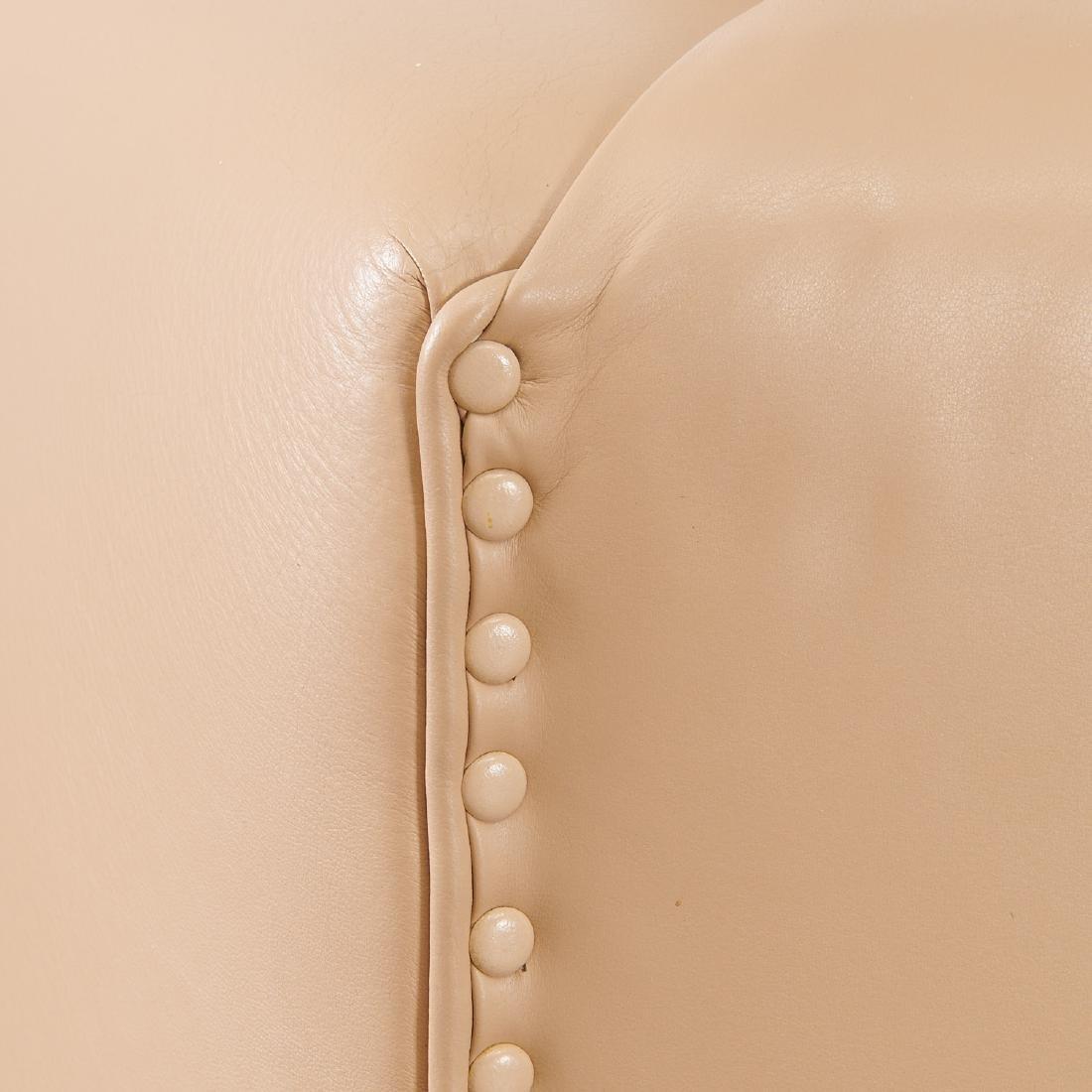 Milo Baughman (attrib.) leather sofa - 9