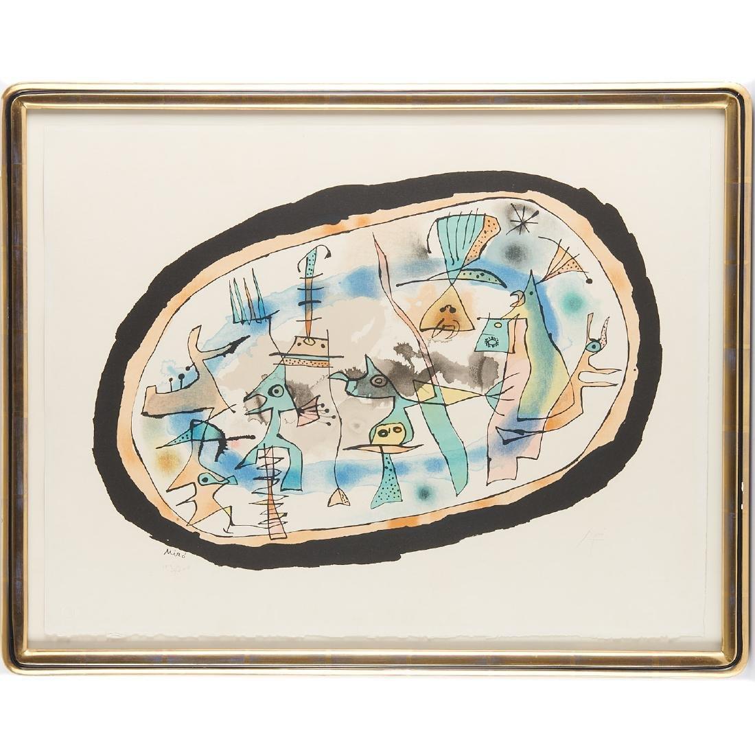Joan Miro, print