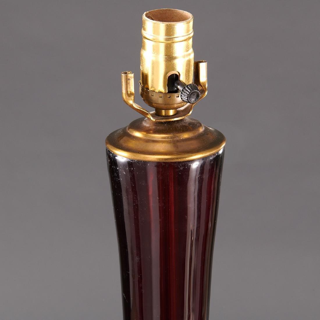 Pair Venini (attrib.) table lamps - 2