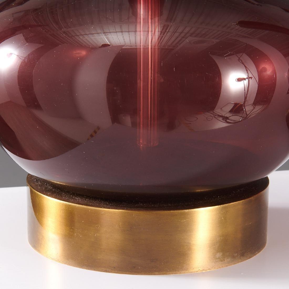Pair Venini (attrib.) table lamps - 4