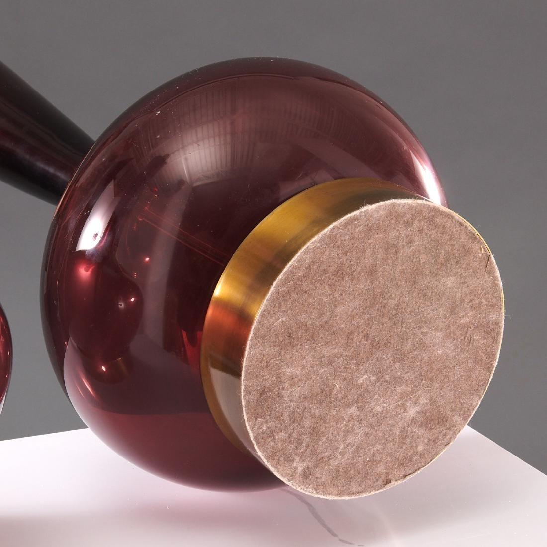 Pair Venini (attrib.) table lamps - 5