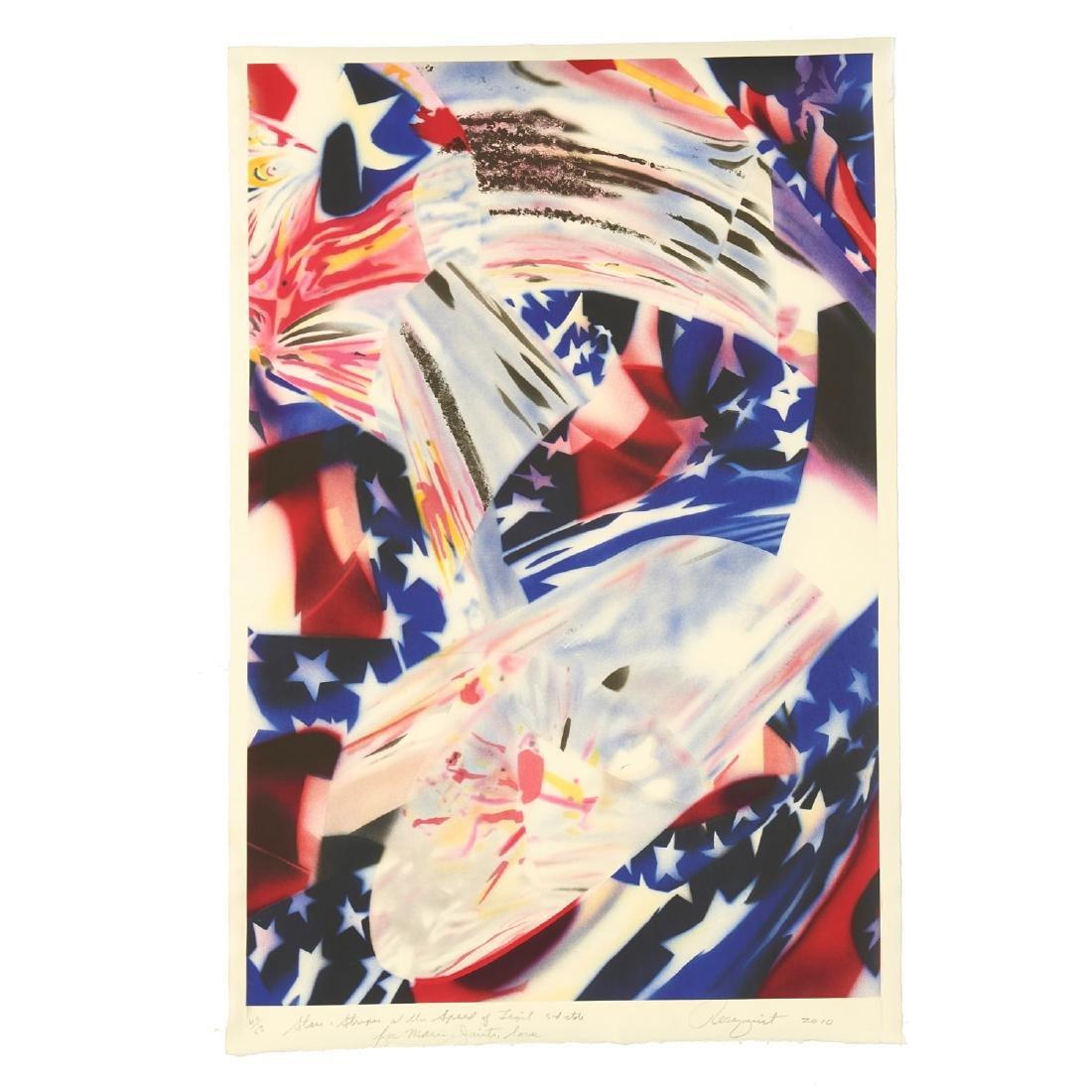 James Rosenquist, print