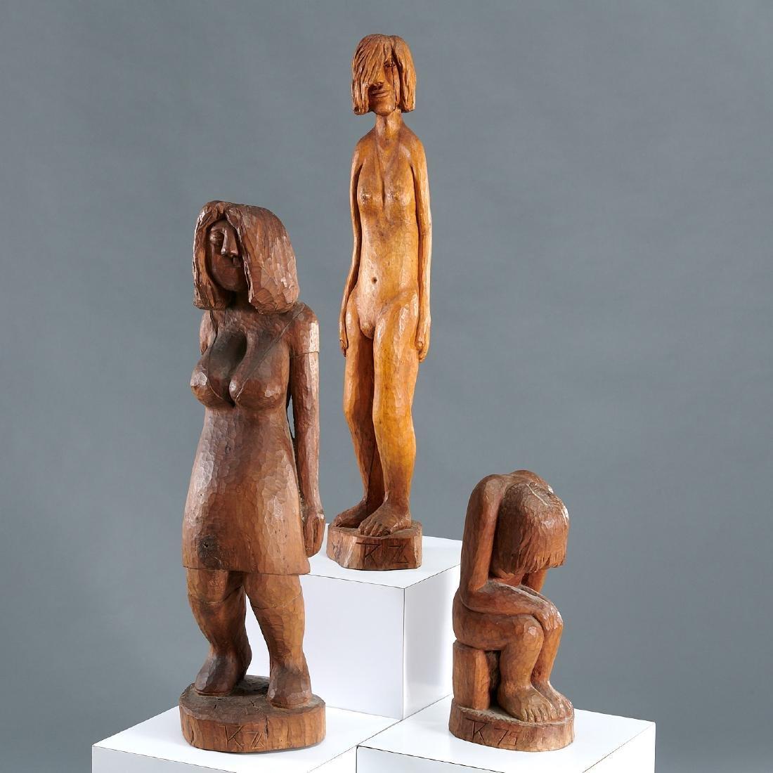 Kresimir Trumbetas, (3) sculptures