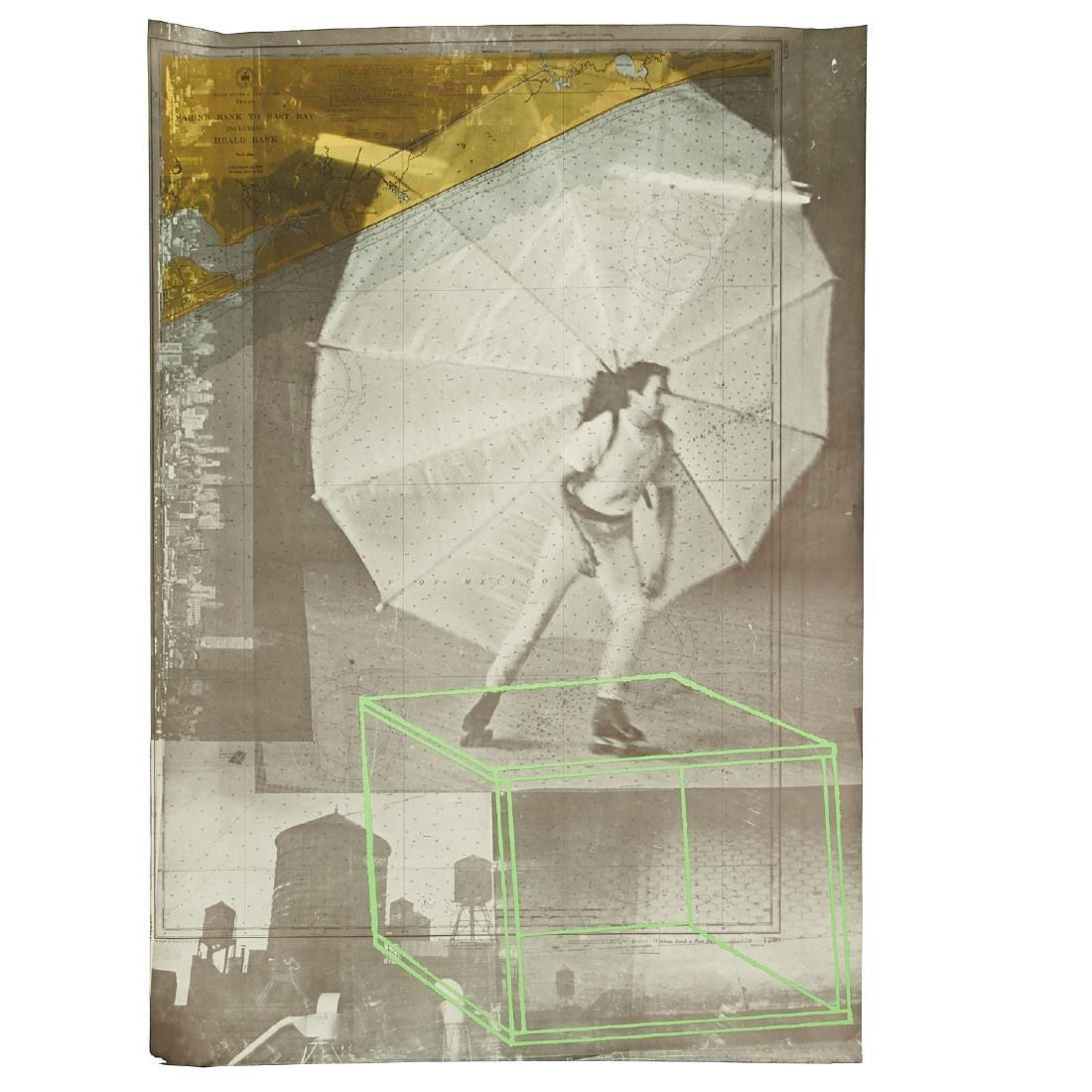 Robert Rauschenberg, triptych print - 3
