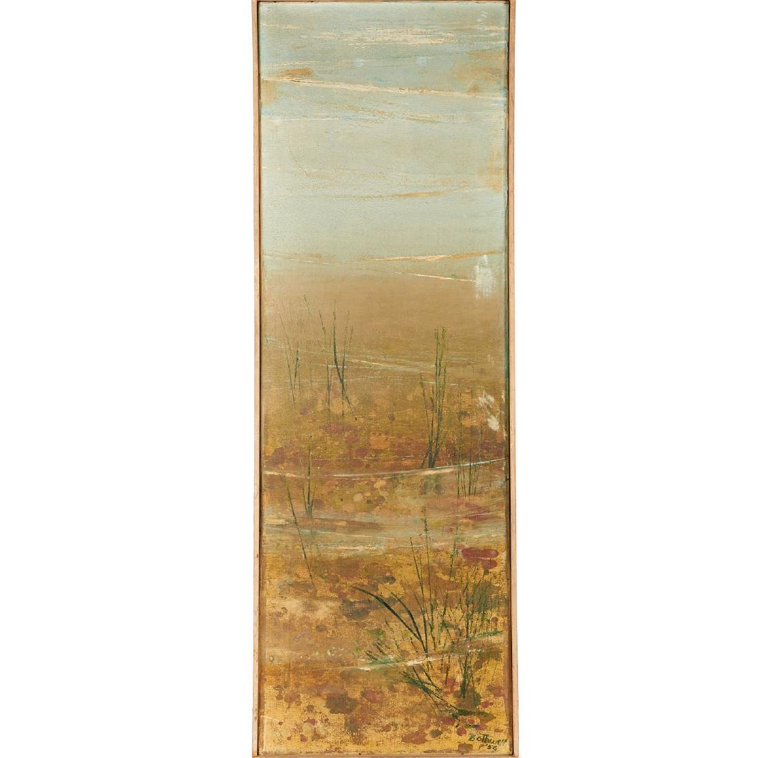 Dorr Bothwell, California painting