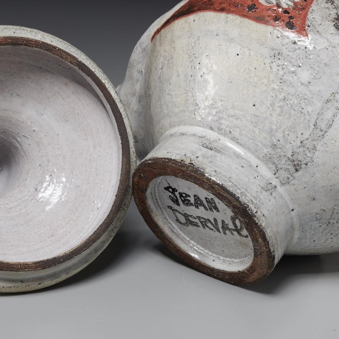 Jean Derval, lidded vessel - 5