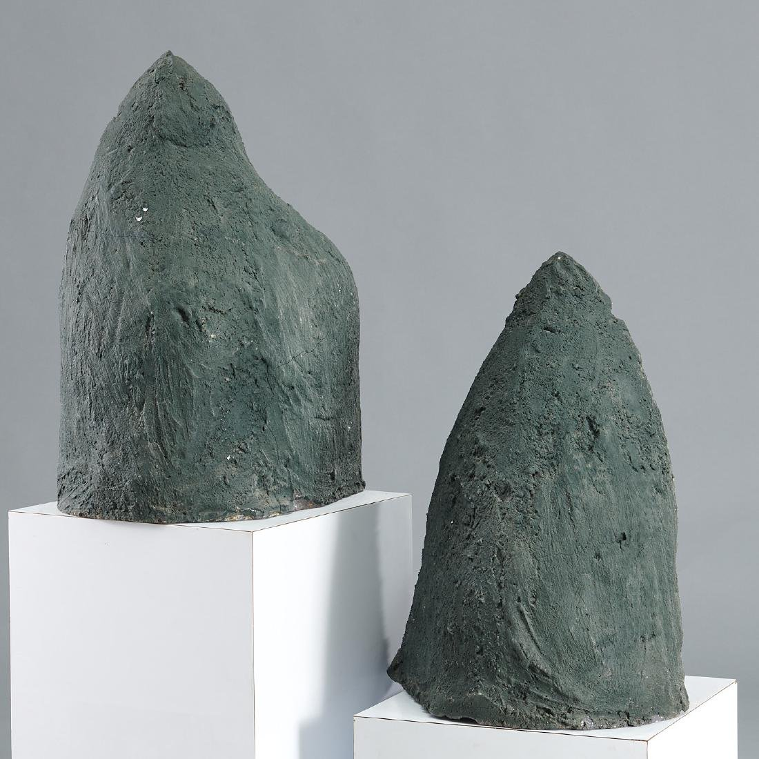 Pair 2-foot geode cathedrals - 4