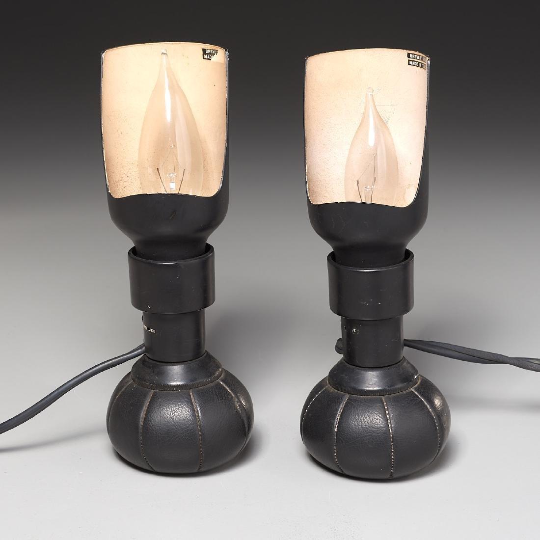 Pair Gino Sarfatti table lamps