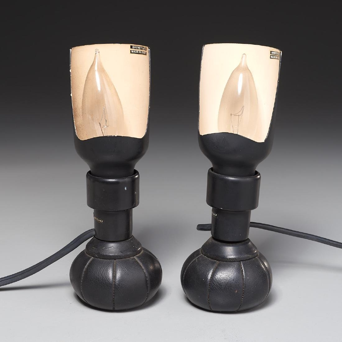 Pair Gino Sarfatti table lamps