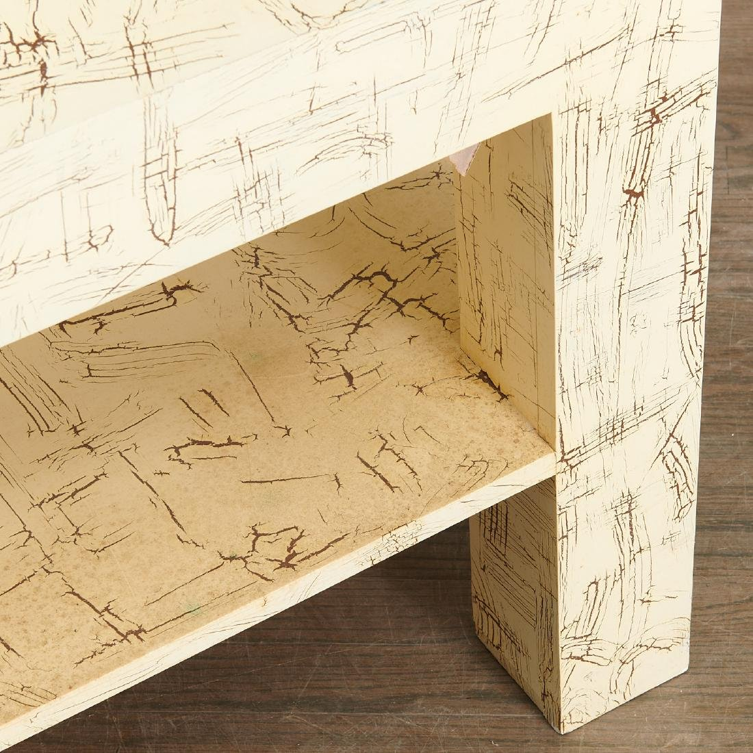 Pair Juan Pablo Molyneux tiered side tables - 5