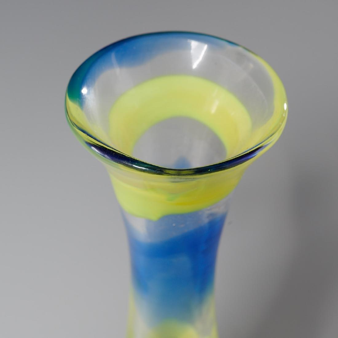 Venini striped vase - 2