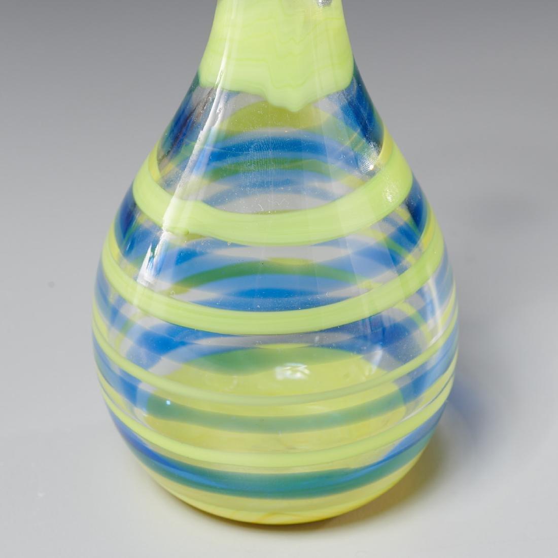 Venini striped vase - 3