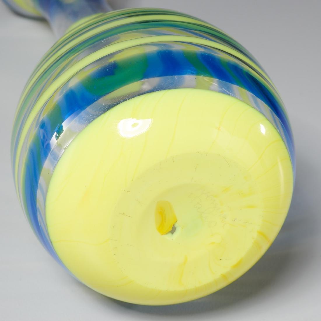 Venini striped vase - 4