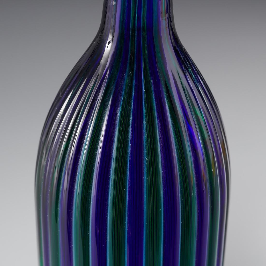 Venini bottle Morandiane - 4