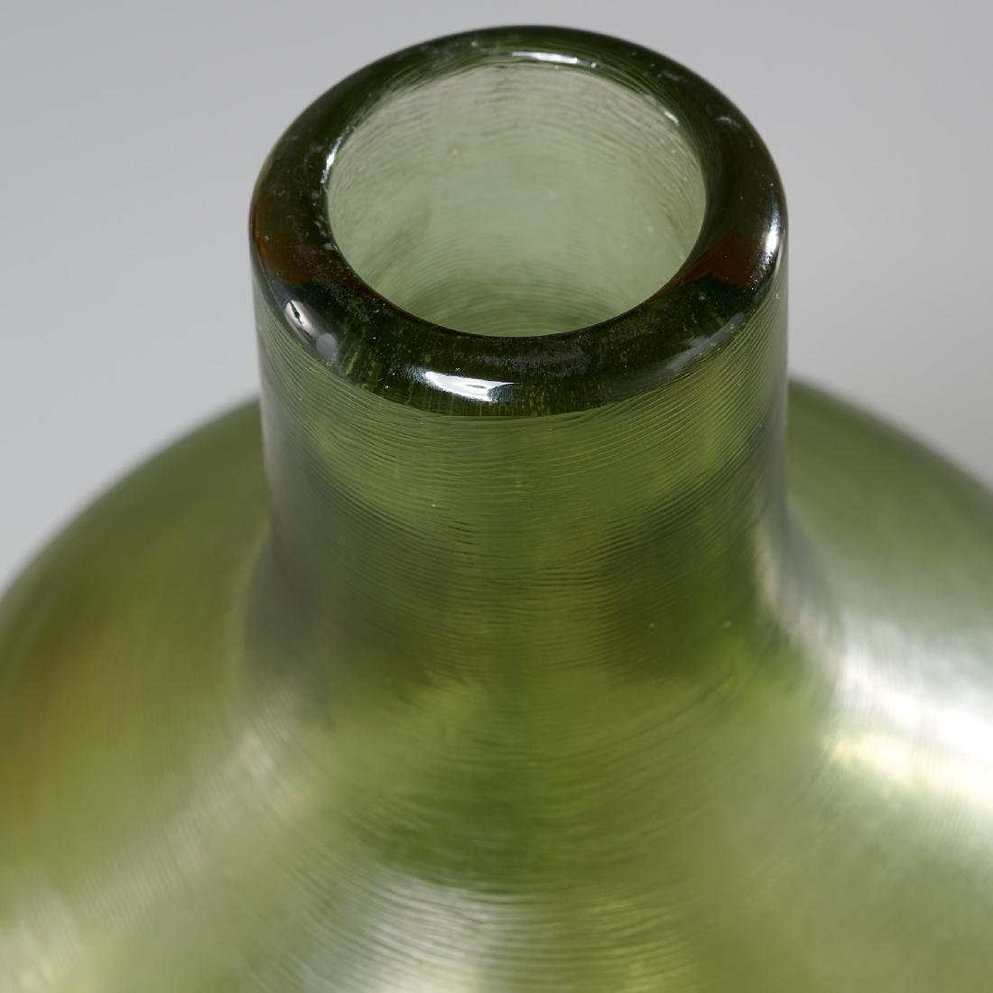 Paolo Venini inciso bottle and stopper - 3