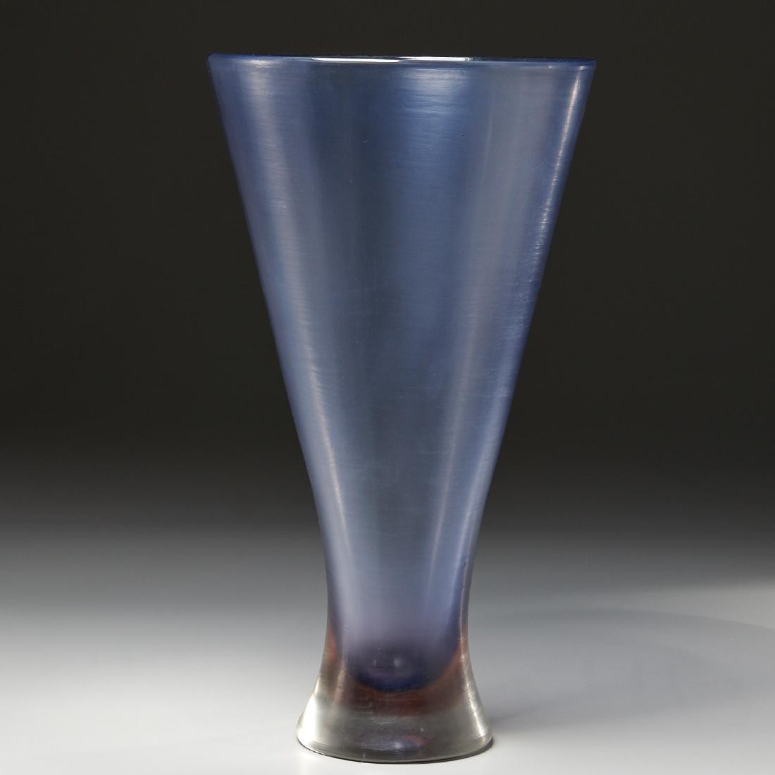 Paolo Venini monumental Inciso vase