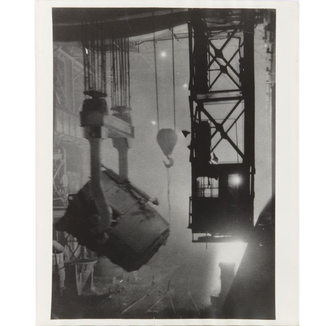 Margaret Bourke-White, large format photograph