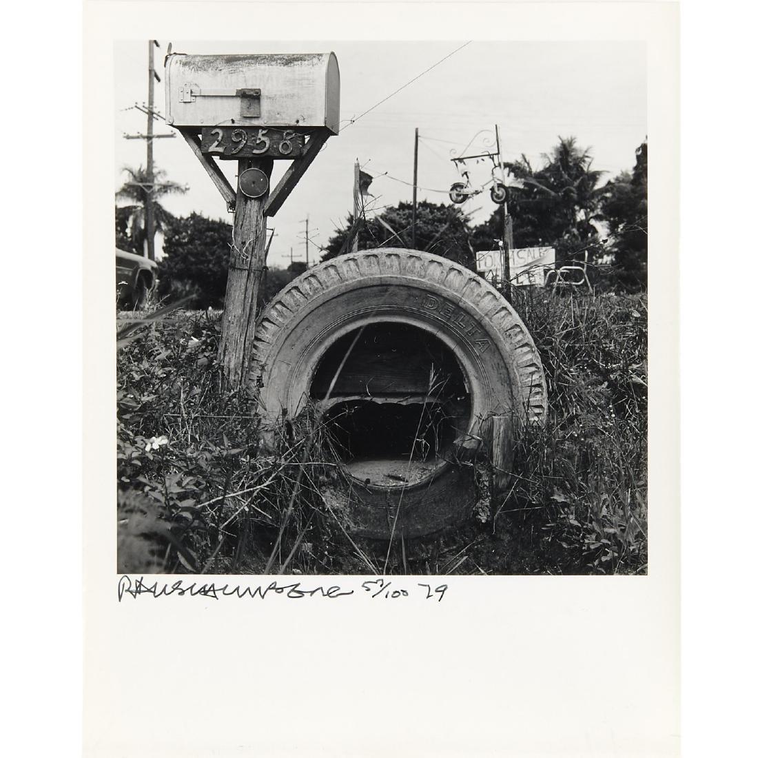 Robert Rauschenberg, photograph